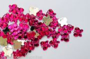 Wedding table decorations Cerise Butterfly Diamantes
